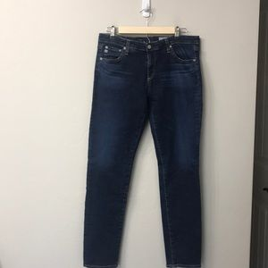 AG the stilt cigarette leg jeans size 32R.AG/ED.
